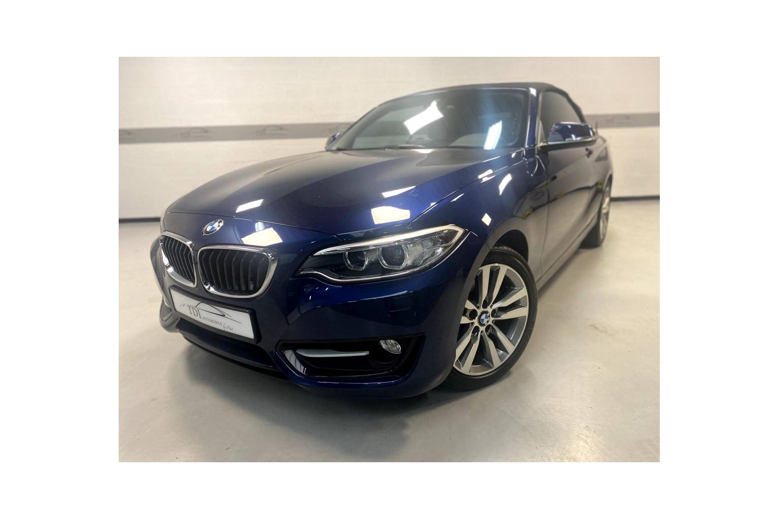 BMW 218d Cabriolet 2016